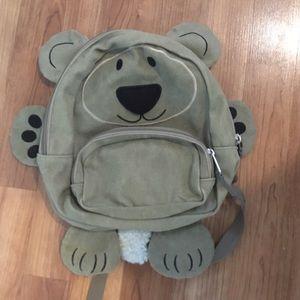 Canvas L. L. Bean bear bag